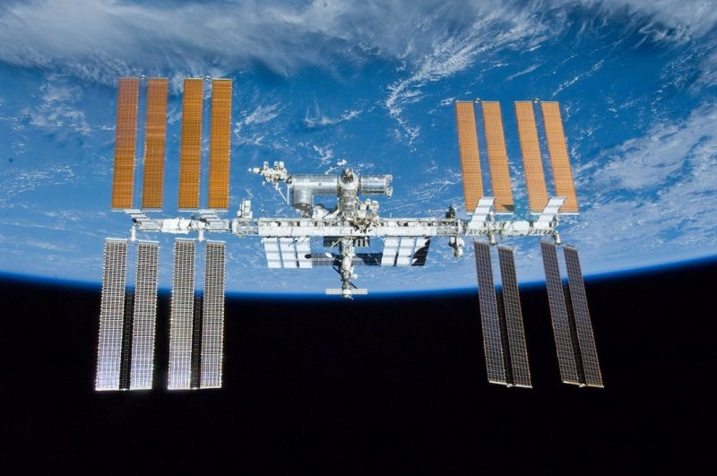 The International Space Station in orbit. Photo via NASA.