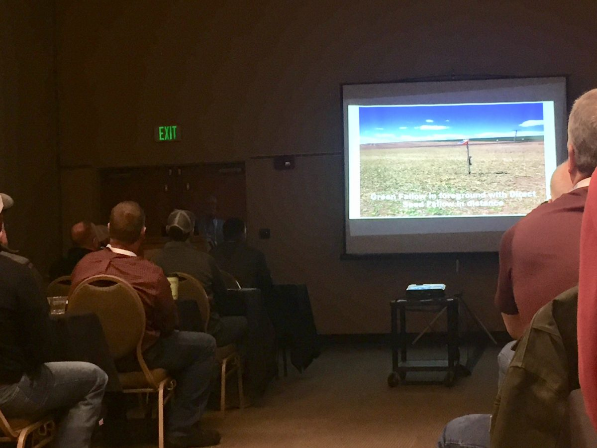 Washington State Soil Health Committee Grant Recipient Presents at Cropping Conference